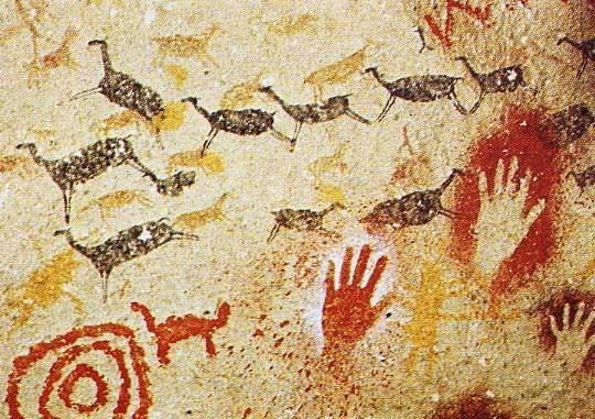 Cave-Paintings at altamira