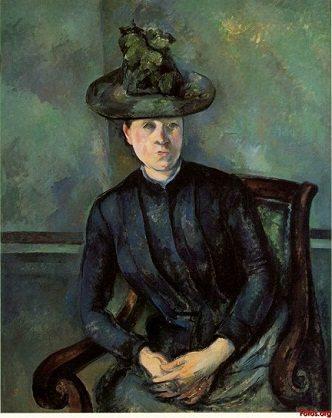 Femme au Chapeau Vert Post Impressionism