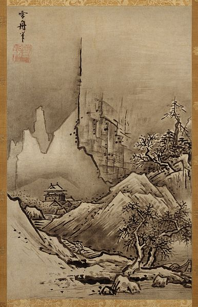 Landscape of Fall and Winter – Sesshu