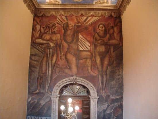 Mural Omniciencia Latin American Art