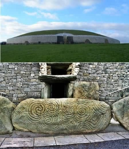 Newgrange megalithic tomb in County Meath