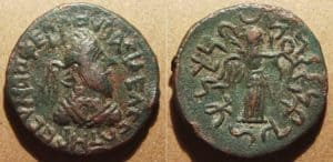 Parthian Art - Coin of Gondophares