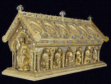 Reliquary of St. Maurus - Romanesque Art