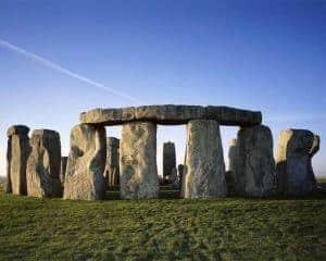 Stonehenge - bronze art