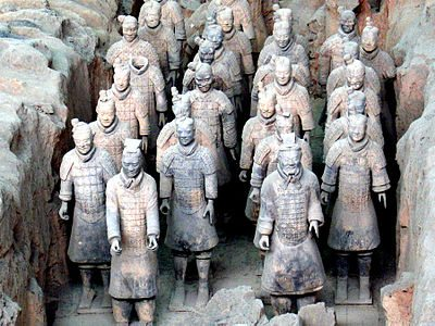 Terra Cotta Army - chinese art