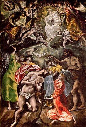 baptism of christ Mannerism art