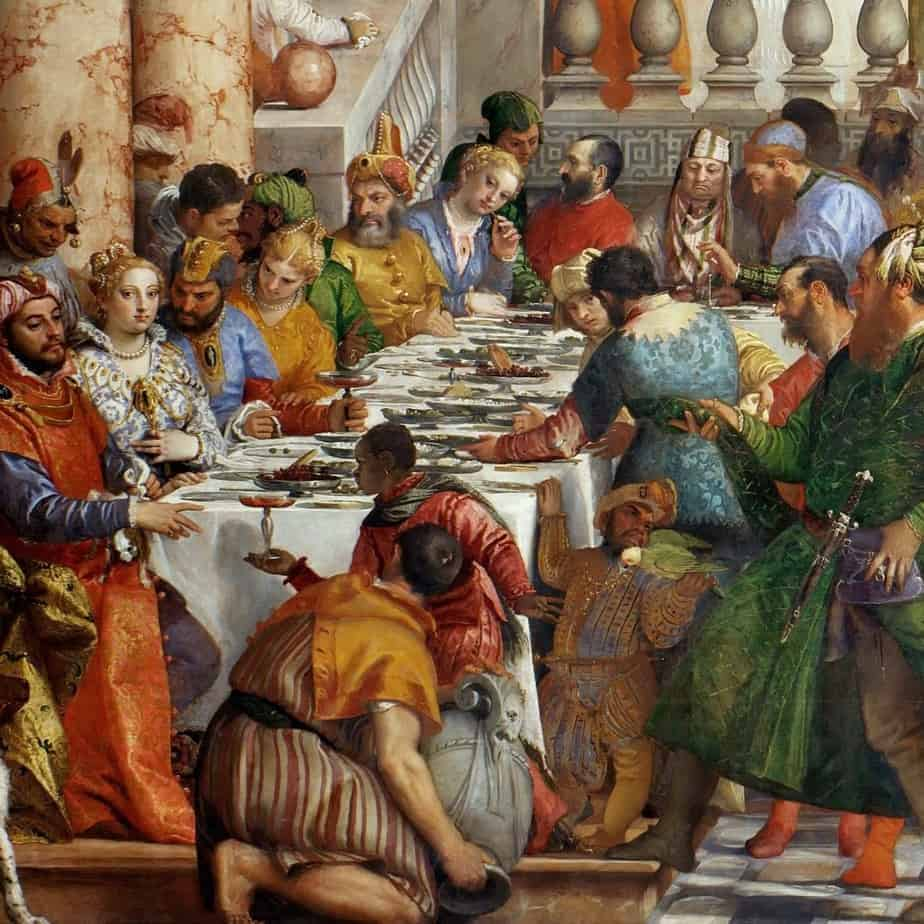 The Wedding at Cana by Paolo Veronese Wedding At Cana Veronese