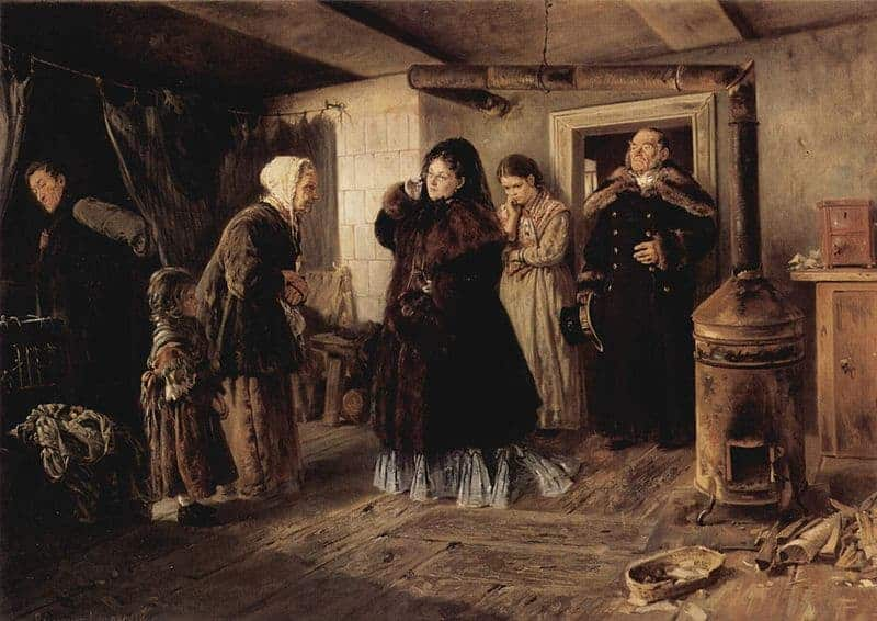 Realism Art Vladimir-Makovsky-philanthropists