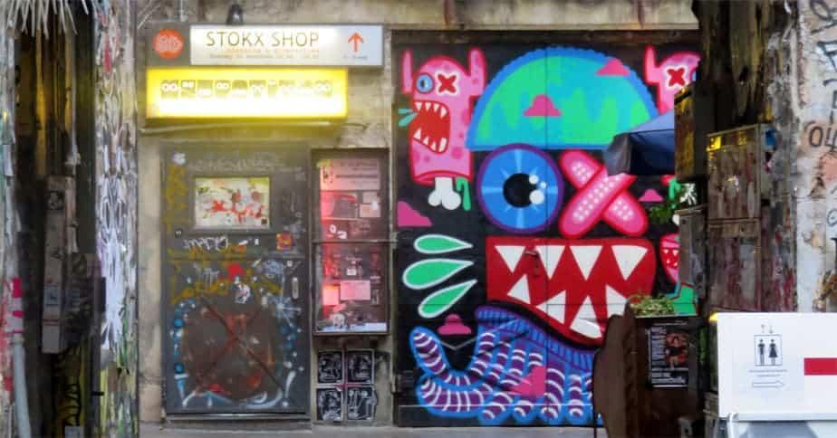 Neurotitan Book Store, Hackescher Markt