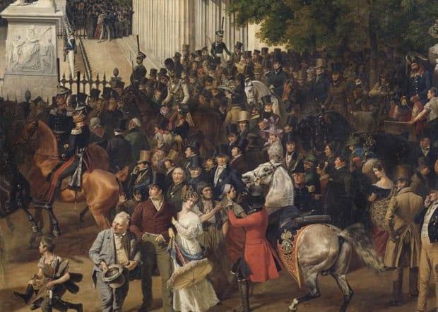 Franz-Krueger-Parade-auf-Opernplatzis-1