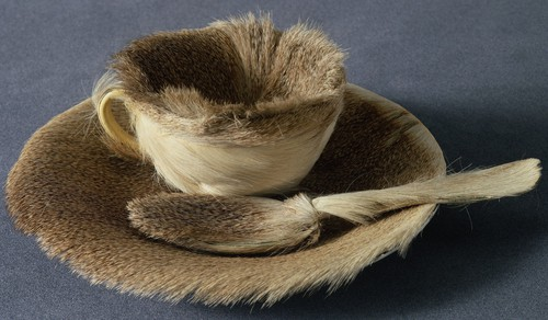 Breakfast in Fur by Méret Oppenheim