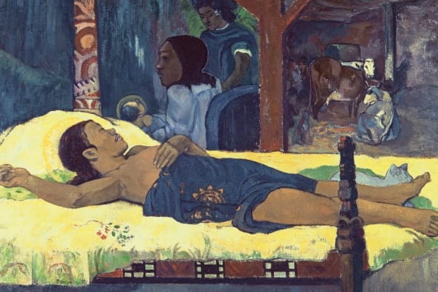 The Birth of Christ by Paul Gauguin
