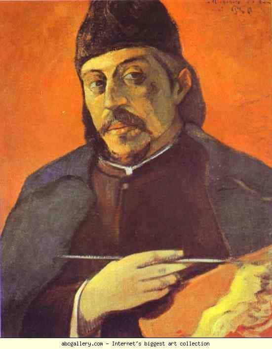 paul gauguin self portrait