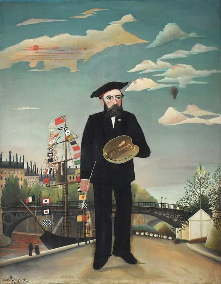 Henri-Rousseau-Portrait-Navie-Art