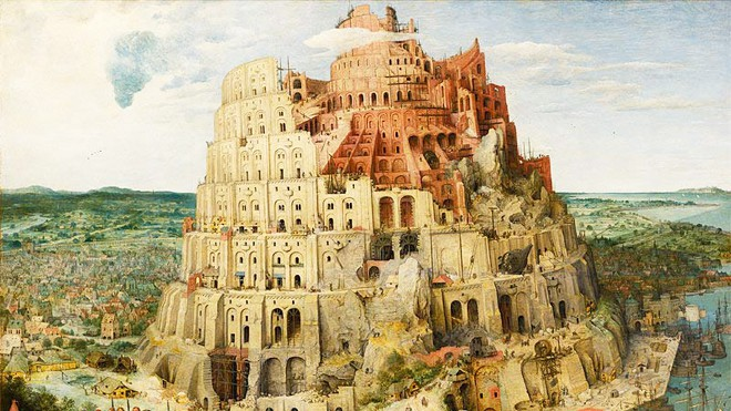 The Tower Of Babel The Artist Art And Culture Magazine
