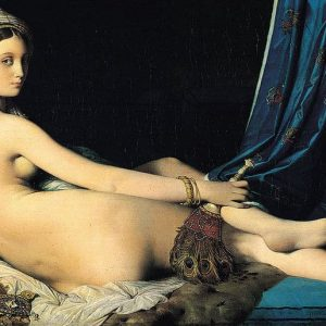 Grande Odalisque Painted by Jean Auguste Dominique Ingres