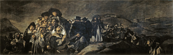 Pilgrimage-to-San-Isidro-black-paintings-goya
