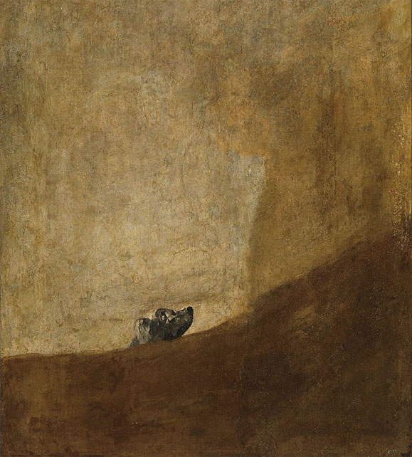 The-Dog-Black-Paintings-Goya