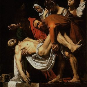 The Entombment of Christ Painting by Caravaggio