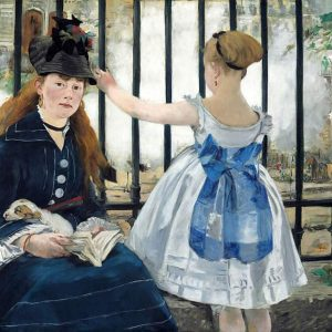 The Railway Painting by Edouard Manet.
