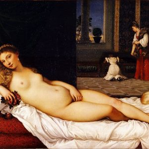 Venus of Urbino Painting by Titian