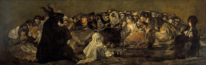 Witches'-Sabbath-Black-Paintings-Goya