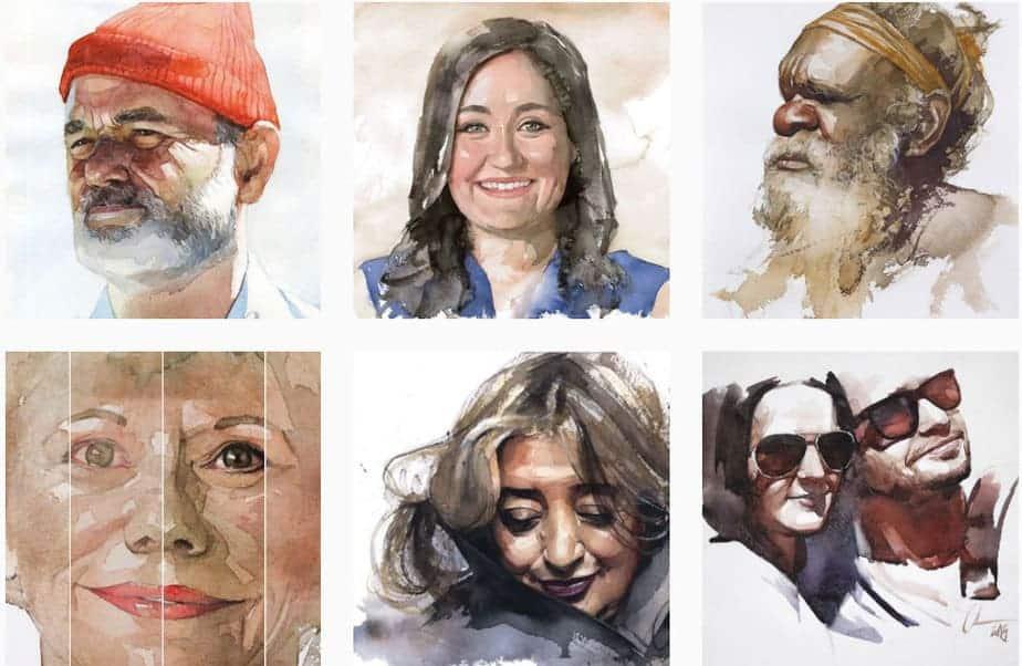 Portraits Watercolor