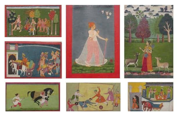 Rajasthan Court Indian Paintings in New York Art World
