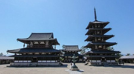 Horyu Ji - Baekje Kingdom: