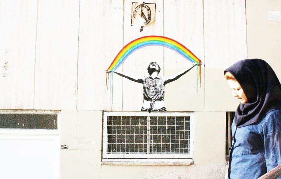 Mutiny of Colors - Iranian Street Art
