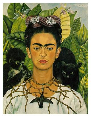 frida-kahlo-paintings-artwork-self-portrait