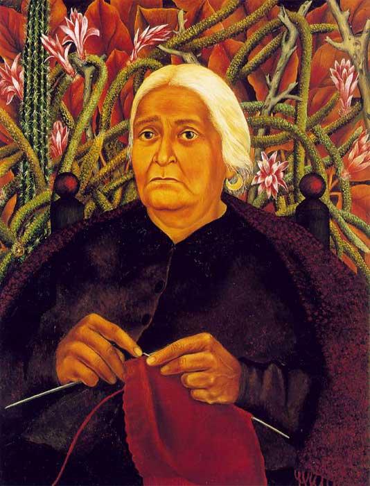 Dona Rosita Morillo Frida Kahlo Paintings