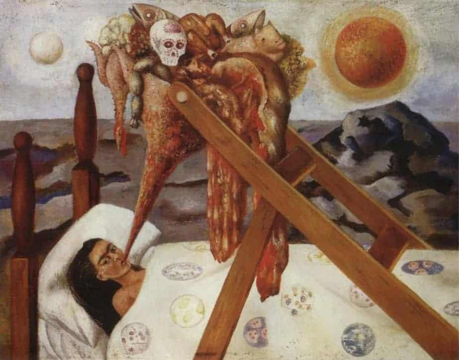 Without Hope - Frida Kahlo Paintings