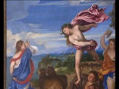 Love in Art depicted by Bacchus and Ariadne