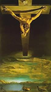 Christ of Saint John of the Cross painting by salvador dali