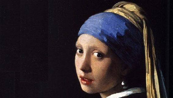 Beauty in Art depicted by Girl With a Pearl Earring