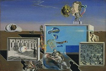 Illumined Pleasures painting by salvador dali