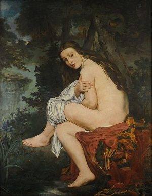 Realism art depicted by La Nymphe surprise