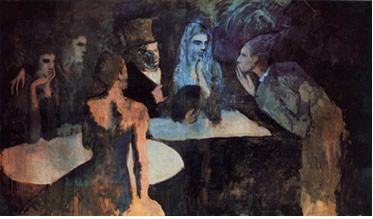 Les Noces de Pierrette by Pablo Picasso