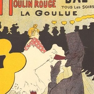 Art Nouveau depicted by Moulin Rouge La Goulue