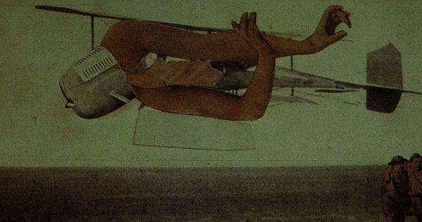 Murdering Airplane by Max Ernst