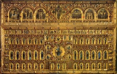 byzantine art depicted by Pala d'Oro