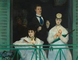 Realism art depicted by The Balcony