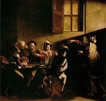 The Calling of St Matthewby Caravaggio