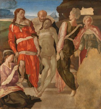 Spirituality in Art depicted by The Entombment