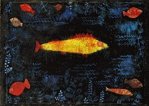 The Goldfish painting by Paul klee