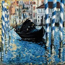 Cubism art depicted by The Grand Canal of Venice
