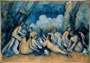 Impressionism art depicted by The Large Bathers