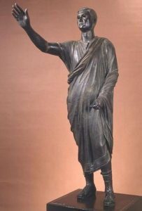 Roman artwork depicted by The Orator