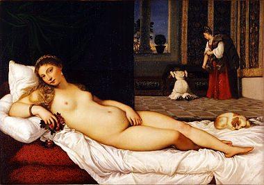 Beauty in Art depicted by Venus of Urbino